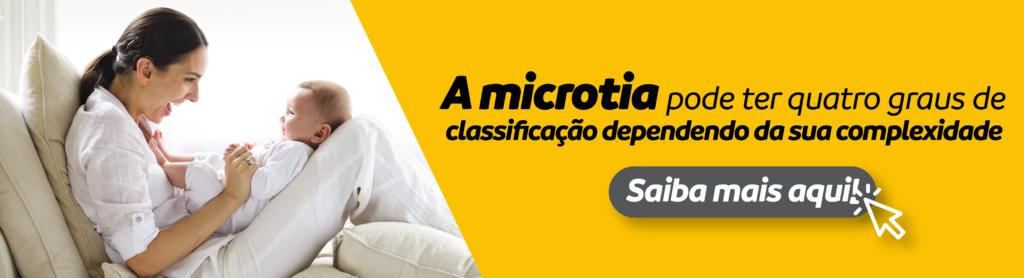 A microtia pode ter quatro graus