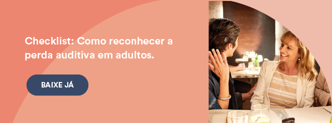 Checklist perda auditiva em adultos